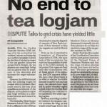 "Blokáda Gurkhů kazí ""Tea party"" v Darjeelingu"