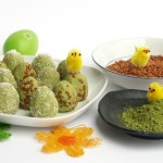 Easter Eggs with Matcha