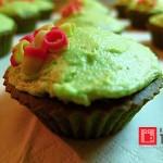Matcha muffiny – fotopříběh