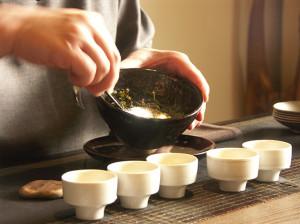 Čajový obřad v misce - Bowl Tea