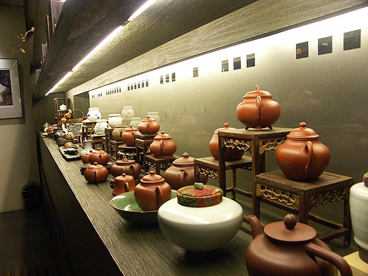 Prodejní výstava v čajovně