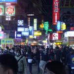 Noční trh v Taičungu