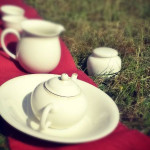 Outdoor Tea Set Shui Ping for Five Drinkers