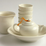Outdoor Tea Set Shui Ping for Five Drinkers
