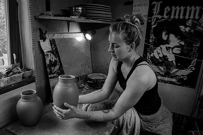 čajová keramika Hanky Vrbicové